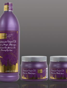 Package No. 12 - Moroccan Argan Oil Package:  Shampoo 1lt + x2 Mask 500ml