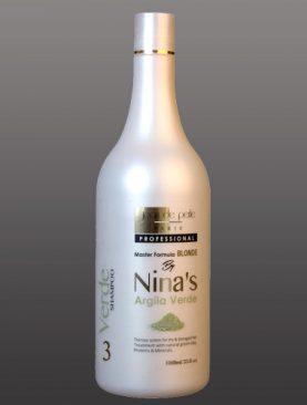 Ninas Argila Verde - Shampoo