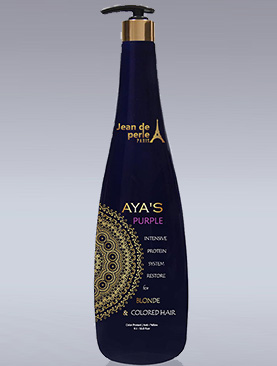 AYAS PURPLE balanced shampoo 33.8Oz/1lt