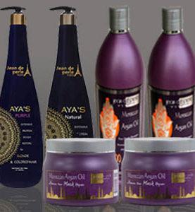 Package No. 22 - Aya's Purple, Aya's Natural, 2 Morocco Shampoo & 2 Moroccan Mask